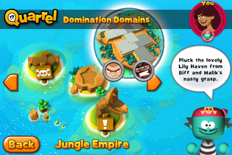 Jungle Empire Islands with Lily Haven selected