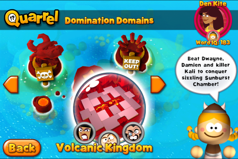 Volcanic Kingdom Islands with Sunburst Chamber selected