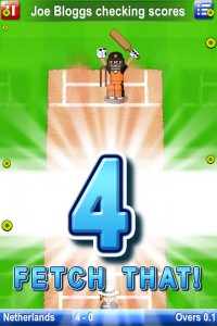Screenshot from Big Cup Cricket multiplayer