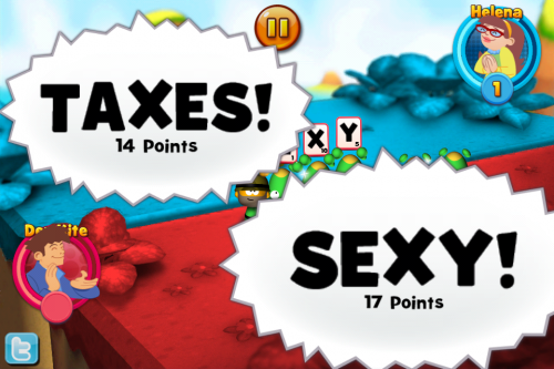 SEXY wins over TAXES (just like in real life)