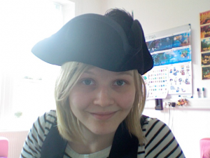 The most awesome pirate hat ever